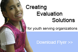 Creating Evaluation Solutions for youth serving organizations
